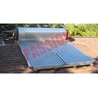 Cheap High Efficient Flat Plate Solar Water Heater For Home OEM / ODM Available for sale