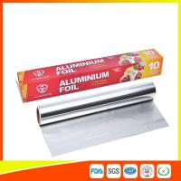 Customized Household Aluminum Foil Roll For Food Wrapping , Aluminum Foil Paper
