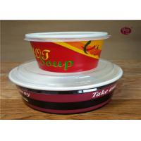 Christmas Disposable Biodegradable Soup Containers / Bowls 380ml - 1100ml