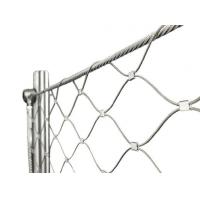Architectural Flexible Cable Mesh SS Wire Rope Solid Structure For ...