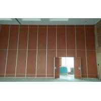 Banquet Hall Decoration Plywood Room Divider Operable Sliding