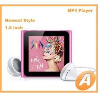 1.5 inch Nano 6th Mp4 Player with Touch Screen