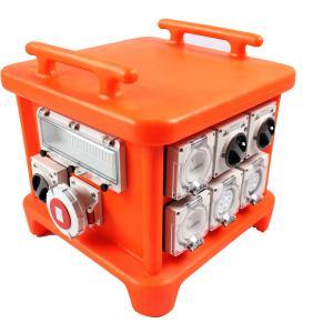 EN60439 4 Portable Power Distribution Unit, UV8 Resistance Spider Electrical Box