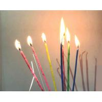 Special Magic Relighting Birthday Candles Tall Skinny Cake