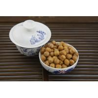 Quality Low Fat Wasabi Roasted Chickpeas Snack , Crunchy Baked Chickpeas Hard Texture wholesale