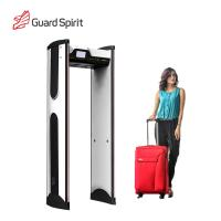 Cheap Super Sensitivity Archway Metal Detector Gate , Door Frame Metal Detector For Hotel Security for sale