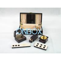 Painted Wooden Boxes Packaging For Aromer Burner Set , Women Perfume Gift Sets