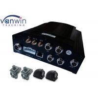 Cheap 4 - CH H.264 CCTV Mobile DVR Bus People Counter , CMS 3G Mobile DVR WITH GPS Track for sale