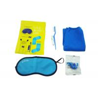 Cheap Original Airline Amenity Kits / Five Contents Pack In Fresco Bag Travel Set for sale