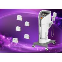 Cheap 300W HIFU Machine For Face Wrinkle Removal / Face Lifting Beauty Salon Equipment for sale