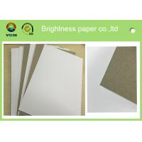 High Bulking Large Flat Cardboard Sheets , White Black Paper Board For Electronics