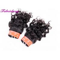 Quality Soft Smooth Italian Wave Virgin Indian Hair Extensions No Chemical Processed wholesale