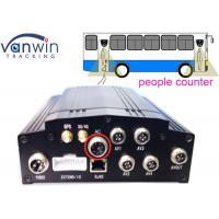 Quality People Counter HD CCTV DVR 3G GPS Dual Stream Mobile Monitoring wholesale