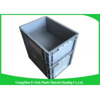 Cheap Euro Industrial Plastic Containers , Customized Euro Plastic Storage Boxes for sale