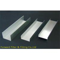 Hot Dip Galvanized U Shaped Metal Furring Channels With