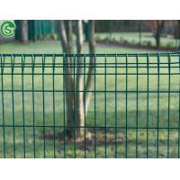 Security 6ft decorative welded wire mesh brc type home fence barrier