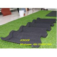 Cheap Waterproof  Stone Coated Steel Roof Tiles For Building Roof Construction for sale