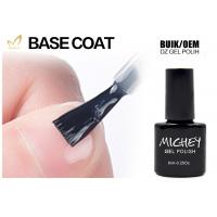 Cheap Private Label Nail Polish UV Base Coat Low Smell Good Adhesive High Tenacity for sale