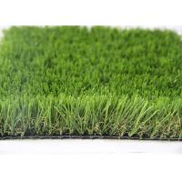 Cheap 35MM Natural Looking Outdoor Artificial Grass For Gardens , Outdoor Synthetic Turf for sale