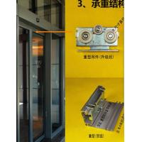 Cheap Commercial 420cm rail,600rail  Automatic Glass Sliding Doors with CE certification for sale