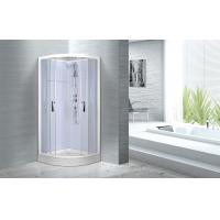 Cheap Cheap , Popular luxury shower cabin ,  Chrome Aluminium Quadrant Shower cabin for sale