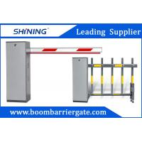 Cheap 3-6m Remote Control Boom Barrier Gate 60 W Car Park Boom Gates With Safety Sensor for sale