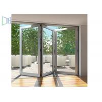 Quality Modern Style Accordion Aluminium Folding Doors Soundproof With  Toughened Glass Wholesale ...