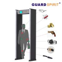 Cheap 24 Zones Self Diagnostic Metal Walk Through Gate With 21 Application Occasions for sale