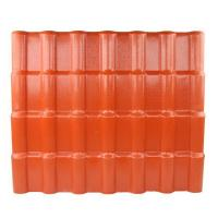 Cheap Anti - corrosive Anti - Uv Synthetic Resin Roof Tile / Pvc Roofing Sheets for sale
