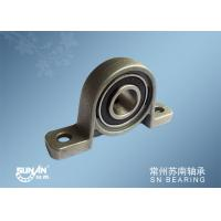 Mounted Bearing Units , Zinc Alloy Pillow Block Ball Bearing Flange Block KP005 KP002
