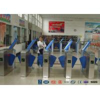 Cheap Heavy Duty Industrial Speed Flap Barrier Turnstile For Handicap Channel for sale
