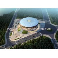 Cheap Long Span Construction Steel Frame , Pre Engineered Metal Building Systems for sale