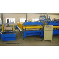 High Stress Metal Corrugated Roll Forming Machine , Corrugated Roofing Sheet Making Machine