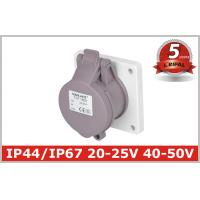 Buy cheap Indoor 32 Amp Industrial Power Socket / Single PhaseOutlets IP44 from wholesalers