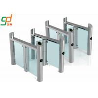 Cheap Stainless Steel Supermarket Swing Gate RFID Access Control Speed Gates for sale