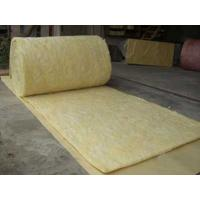 Cheap High Temperature Resistance Glass Wool Blanket For Power Plant 20mm - 100mm Thickness for sale