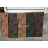 Cheap Aluminum-zinc Material and Bent Tiles Type shingle stone coated steel roof sheet for sale