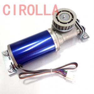 Cheap 24V 75W  Blue Circular brushles  Glass sliding door motor Casing diameter 60.5mm for sale