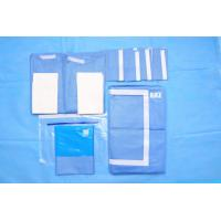 Cheap OEM Blue Non Woven Surgical Cystoscopy Drape SMS Absorbent Material for sale