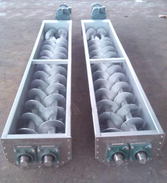Grain Tubular Screw Conveyor For Sludge Transfer In Sewage