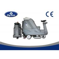 Blue Color Reconditioned Ride On Floor Scrubbers Machine , Wet Floor Cleaning Machines