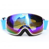 Cheap Custom Adult Sport Blue Polarized Snow Goggles For Mountaineering Protective Eyewear for sale