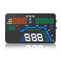 Universal Car Gps Display On Windshield , Audi Q7 Hud 5.5 Inch Gps Windshield Speed Projector