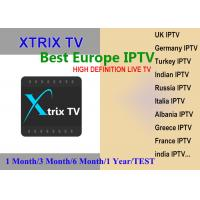 XTRIX TV Europe IPTV watch UK,Germany,Italia,France,Greece, Arabic