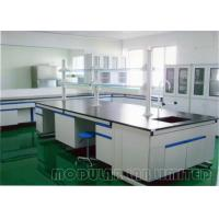 Floor Mounted Laboratory Work Benches with 304 SUS Phenolic