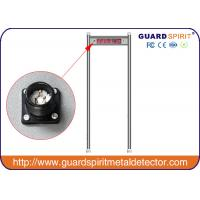 Cheap High Sensitivity Metal Detector Gate Door For Security , Sound Alarm for sale