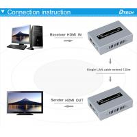 China Factory Price POE HDMI Extender over IP 120M receiver with IR hdmi remote extender
