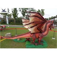Cheap Amusement Equipment Dinosaur Lawn Statue Facility Lawn Artificial Dragon Statues for sale