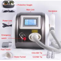 Cheap 1064nm 532nm Laser Pigment Removal / Tattoo Removal Machine Multifunction 1000mj for sale