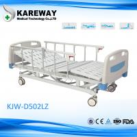 Cheap Detachable Remote Control Electric Hospital Bed , Home Care Beds With Central Locking Casters for sale